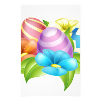 Easter Eggs Design Element Stationery