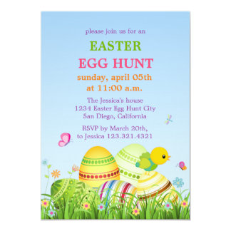 Easter dinner invitations announcements zazzle easter eggs easter party invitation stopboris Gallery