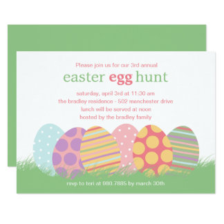 Easter Party Invitations Announcements Zazzle