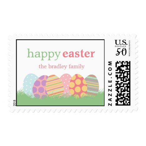 Easter Eggs Easter Postage Stamp