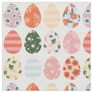 Easter Eggs Fabric