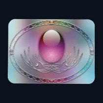 Easter Eggs Flexible Magnet