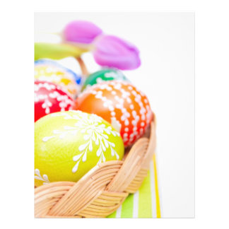 Easter Eggs Personalized Flyer