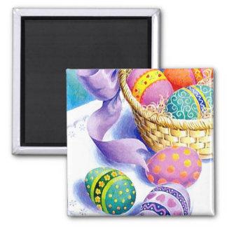 Easter eggs fridge magnet