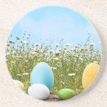 Easter Eggs Hunt Drink Coasters