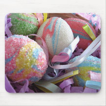 Easter Eggs in a Basket Mouse Mat