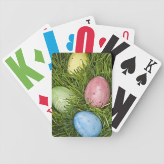 Easter Eggs in Grass Bicycle Playing Cards