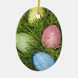 Easter Eggs ornament
