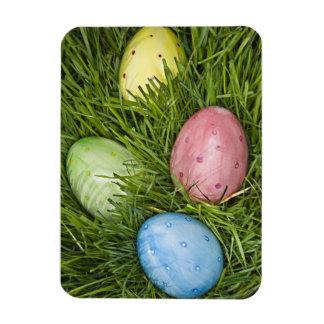 Easter Eggs in Grass Magnet