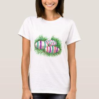 Easter Eggs in Grass Women's T-Shirt