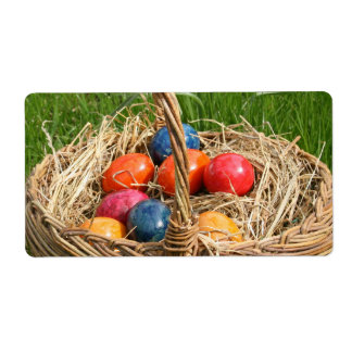 EASTER EGGS SHIPPING LABEL