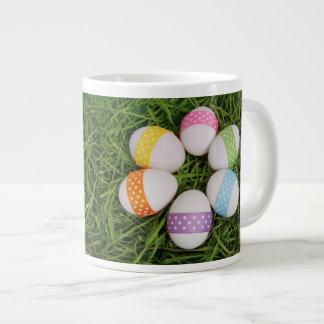 Easter Eggs Large Coffee Mug