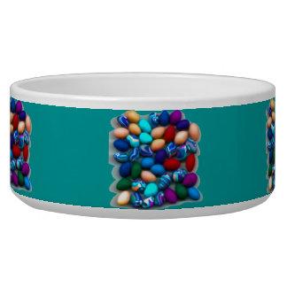 Easter Eggs Large Pet Bowl
