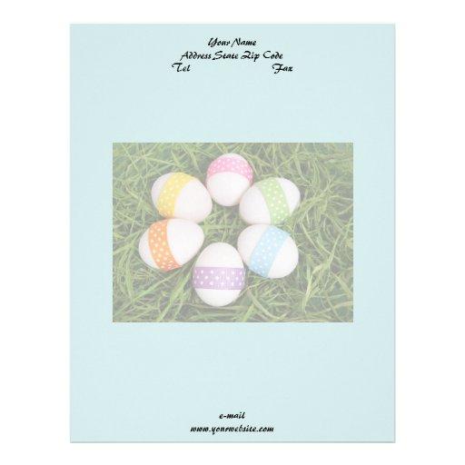 Easter Eggs Letterhead