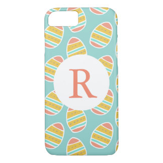 Easter Eggs Monogram iPhone 8/7 Case