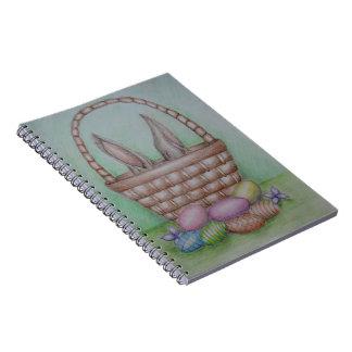 easter eggs notebook
