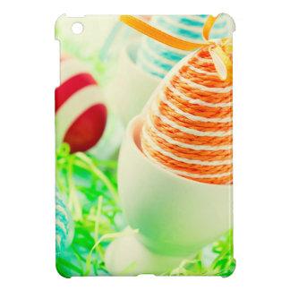 Easter eggs on grass iPad mini cover