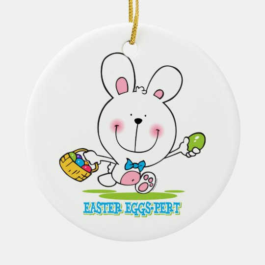 Easter Eggs-pert Ornament