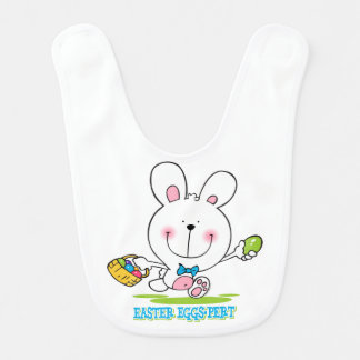 Easter Eggs-pert Baby Bib