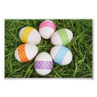 Easter Eggs Photo Print