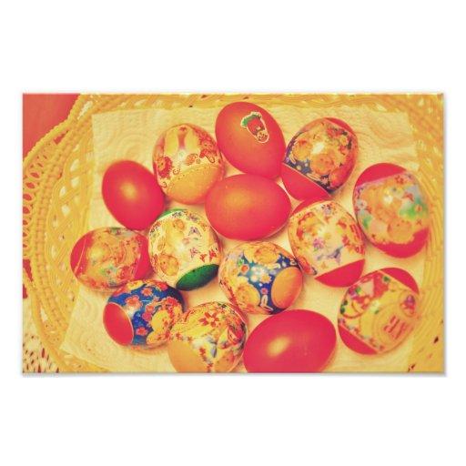 Easter eggs photograph