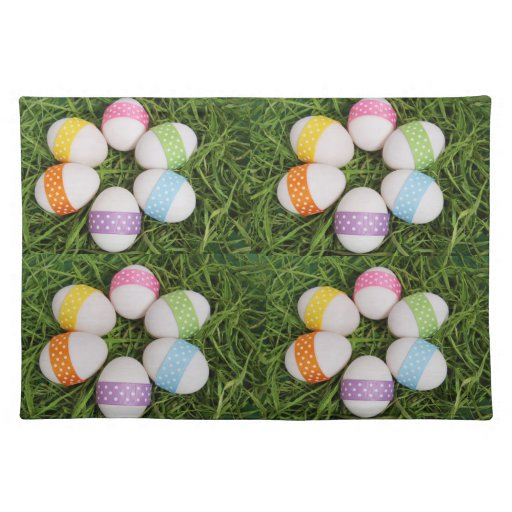 Easter Eggs Place Mats