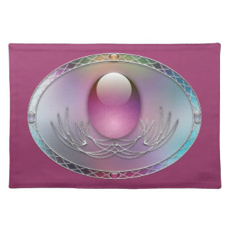 Easter Eggs Placemat Cloth Place Mat