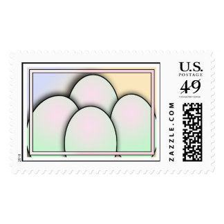 Easter Eggs Postage
