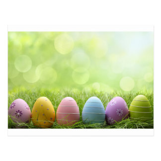 Easter Eggs Postcard