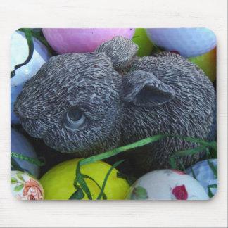 Easter Eggs, Rabbit Golf Balls Mouse Pad