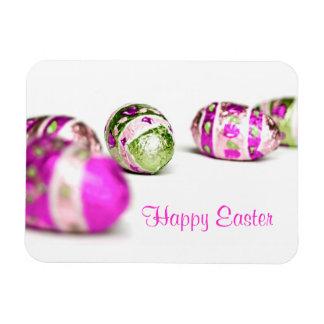 Easter Eggs Rectangular Photo Magnet