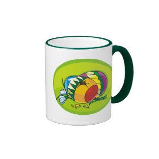 Easter Eggs Ringer Mug