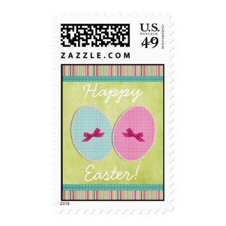 Easter eggs scrapbooking colorful postage