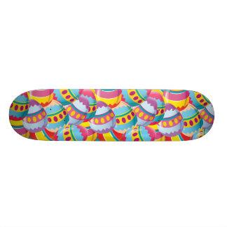 Easter Eggs Skateboard