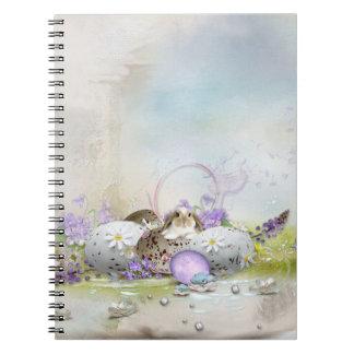 Easter Eggs Spiral Notebook