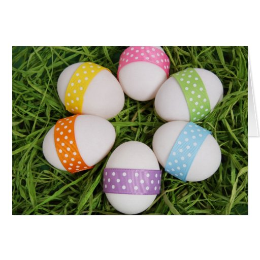 Easter Eggs Stationery Note Card