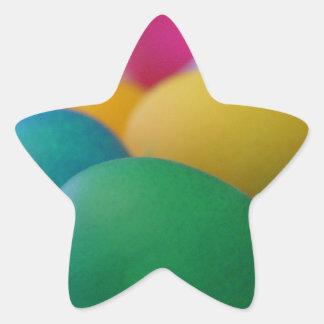 Easter Eggs Star Sticker