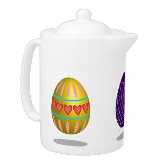 Easter Eggs Teapot