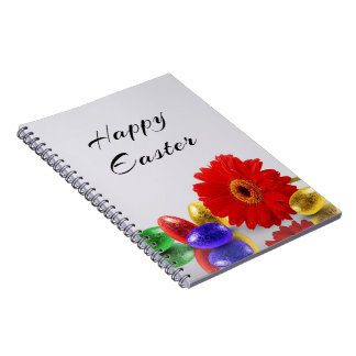 Easter Eggs with Gerbera - Notebook