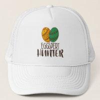Easter Eggspert Hunter Funny Quote Trucker Hat
