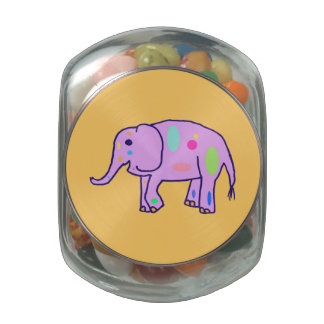 Easter Elephant jelly bean container Jelly Belly Candy Jars