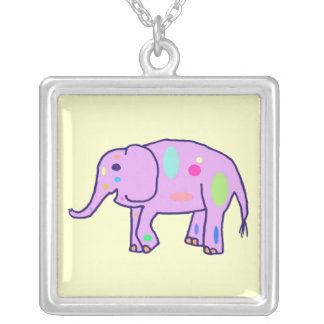 Easter Elephant necklace