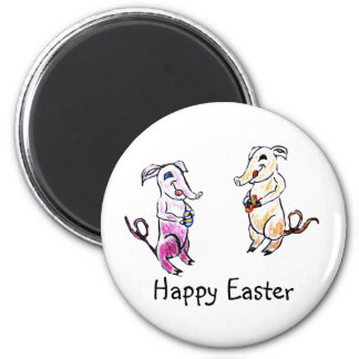 Easter Elephants Magnet