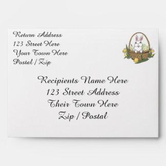 Easter Envelopes Custom Easter Bunny Envelopes