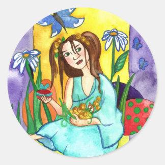 Easter Fairy Fantasy Sticker