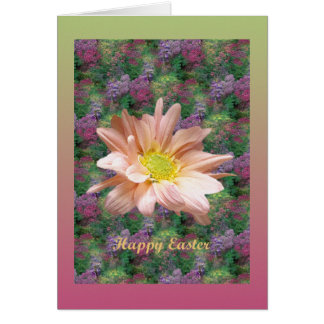 Easter Floral Daisy Card