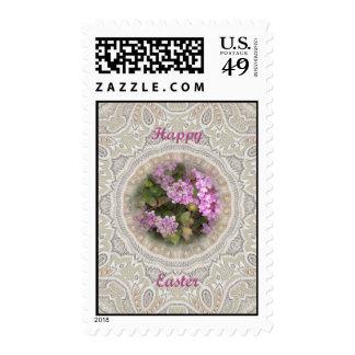 Easter Floral Lantana Postage Stamps