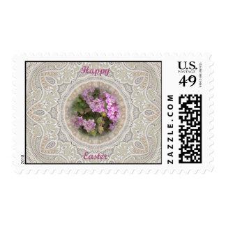 Easter Floral Lantana Stamps