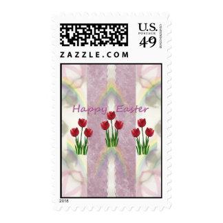Easter Floral Tulips Stamp