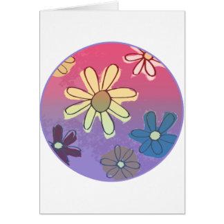 Easter Flower Shine Card